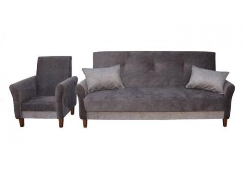 Zestaw RETRO Wersalka+Fotel