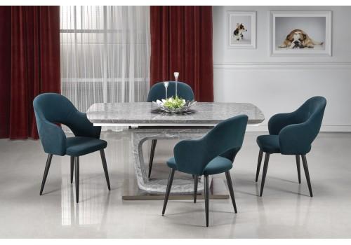 ARTEMON stół rozkładany popielaty marmur