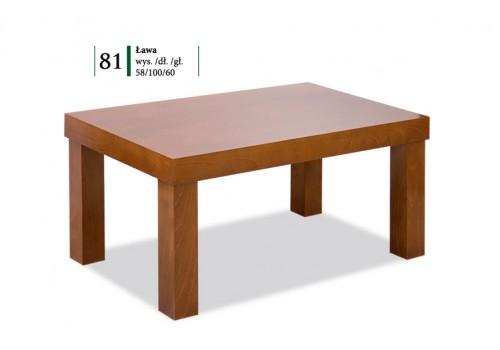 Ława   Roben okleina + drewno