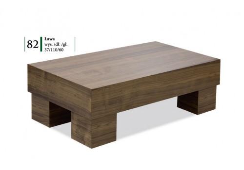 Ława Luiza okleina + drewno